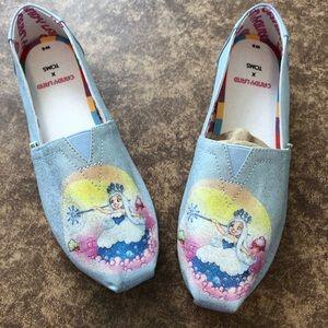 Toms New Alpargata Candy land Cinderella slip on6